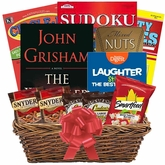 Books and Puzzle Books Gift Basket