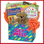 Kids Get Well Gift Box of Things to Do