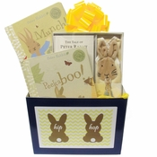 Baby Gift Box with Classic Peter Rabbit Baby Books