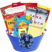 Bookishly Brilliant Reader's Gift Basket
