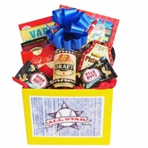 All Star Mens Gift Basket with Puzzle Books and Snacks