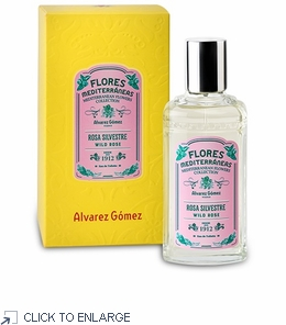 Alvarez Gomez Mediterranean Wild Rose Eau de Toilette - Winter SALE 50% Off