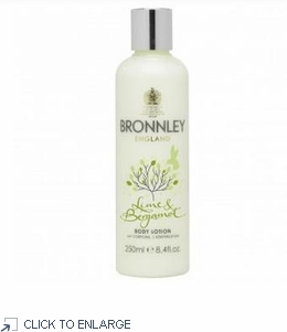 Bronnley Lime and Bergamot Body Lotion - limited quantities - 60% Off