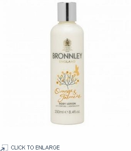 Bronnley Orange and Jasmine Body Lotion - limited quantities - 60% Off