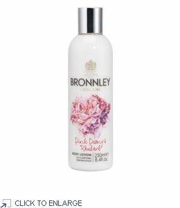 Bronnley Pink Peony & Rhubarb Body Lotion - limited supply - 20% Off