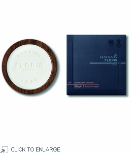 Floris No 89 Shaving Soap in a Wooden Bowl 100g