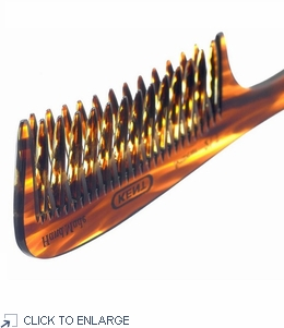 Kent Curved Double Row Detangling Comb - 200mm - 21T