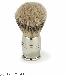 Penhaligon's Nickel Shaving Brush - Limited Overstock 40% Off
