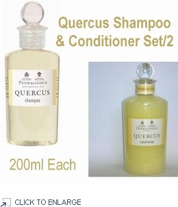 Penhaligon's Quercus Shampoo & Hair Conditioner