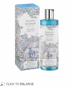 Woods of Windsor Blue Orchid and Water Lily Bath & Shower Gel