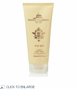 Woods of Windsor For Men Hair and Body Wash