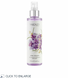 Yardley London April Violets Fragrance Body Mist - 20% Off