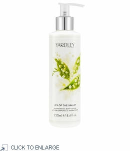 Yardley London Lily of the Valley Moisturizing Body Lotion