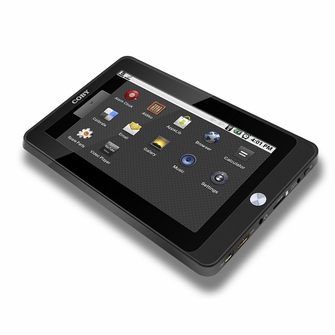 Coby Kyros MID7015 7-Inch Android 2.3 Internet Touchscreen Tablet PC with WiFi, 0.72 GHz, 4GB Flash Removable Memory<!--MID7015B-->