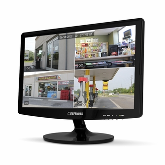 "DEFENDER 19"" Super Slim High Resolution LED Monitor with Stand &VESA Mount Compatibility<!--21036-->"