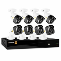Defender® HD 1080p 16 Channel 2TB Digital Video Recording Security System and 8 Long Range Night Vision Bullet Cameras with Mobile Viewing<!--HD2T16B8-->