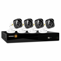 Defender® HD 1080p 4 Channel 1TB Digital Video Recording Security System and 4 Long Range Night Vision Bullet Cameras with Mobile Viewing<!--HD1T4B4-->
