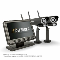 "Defender® PHOENIXM2 Digital Wireless 7"" Monitor DVR Security System with 2 Long Range Night Vision Cameras and SD Card Recording<!--PHOENIXM22C-->"