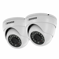 Defender Pro 2 Pack 800TVL Ultra High Resolution Widescreen Indoor/Outdoor Dome Security Cameras (21319)<!--21319-->