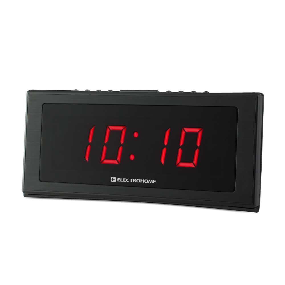 dab radio alarm clock battery backup electrohome digital am fm clock radio w battery backup. Black Bedroom Furniture Sets. Home Design Ideas