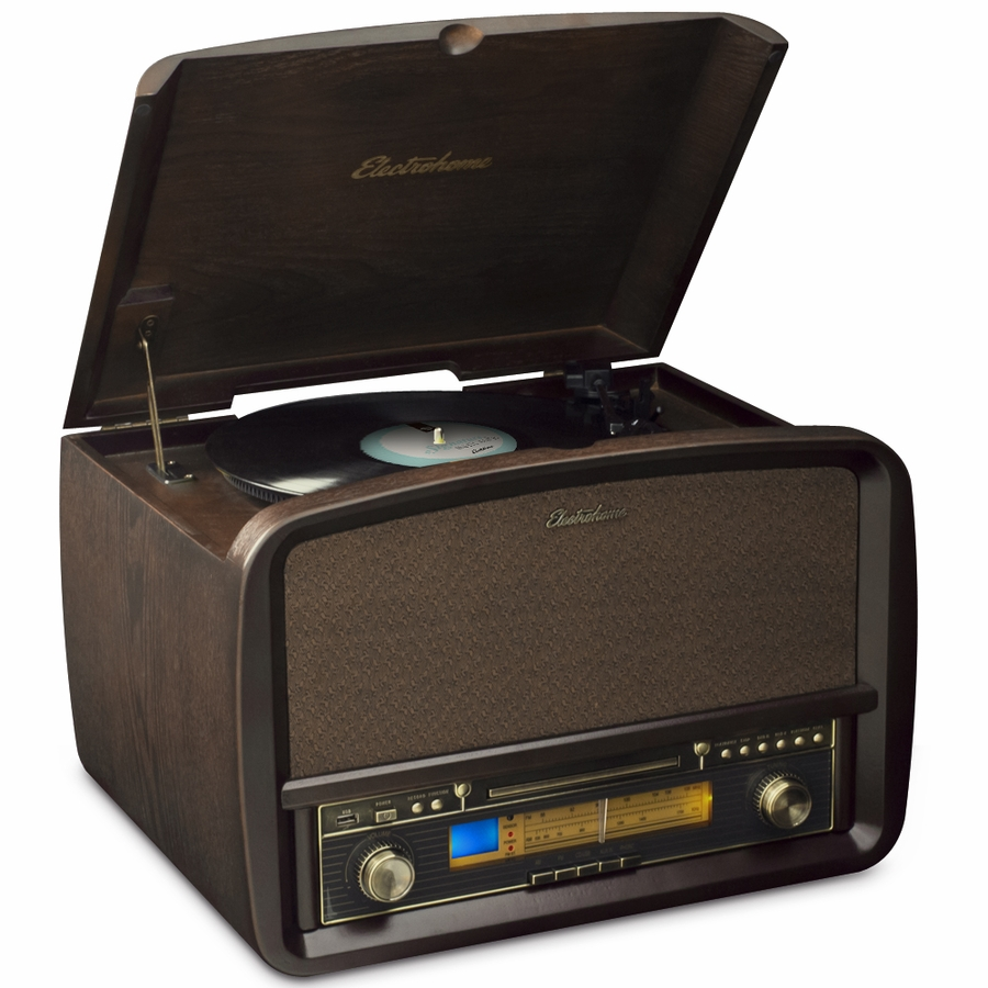 Electrohome signature vinyl record player classic for Classic house cd