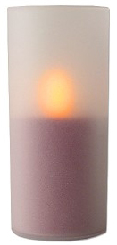 Flameless LED Pillar Candle with Realistic Flickering and Glowing<!--LEDCANDLE-->