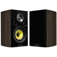 Fluance Signature Series HiFi Two-way Bookshelf Surround Sound Speakers for Home Theater and Music Systems (HFSW) - Natural Walnut <!--HFSW-->