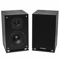 Fluance SX6-BK High Definition Two-way Bookshelf Loudspeakers-Black<!--SX6-BK-->