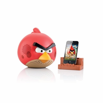 Gear4 Angry Birds Red 2.1 Speaker for iPod, iPhone, iPad, MP3 Players, Smartphones and Tablets - PG542CAN<!--PG542CAN-->