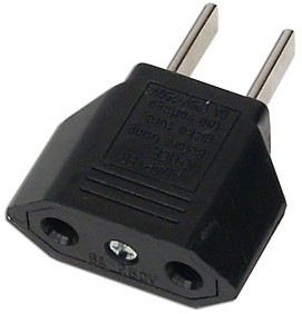 International Euro & Asia to US & North American Socket Plug Adapter Converter<!--PLUGADAPTER-->