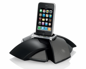 JBL On Stage IV Portable Loudspeaker Dock for iPod and iPhone (JBLOS4BLKAM)<!--JBLOS4BLKAM-->