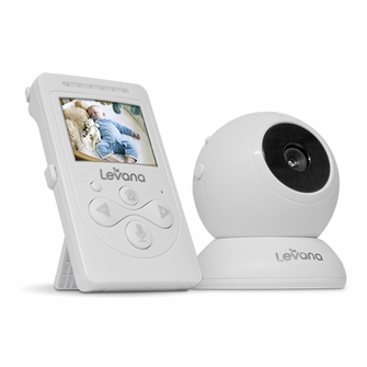 Levana Lila Digital Baby Video Monitor with Night Vision and Talk to Baby Intercom - 30000<!--30000-->