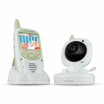 Levana Safe N'See Digital Video Baby Monitor with Talk-to-Baby Intercom and Lullaby Control (LV-TW501)<!--LV-TW501-->