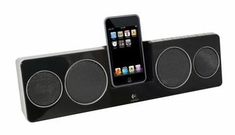 Logitech Pure-Fi Anywhere 2 Compact Docking Speakers for iPod and iPhone (Black) - PUREFIANYWHERE2<!--PUREFIANYWHERE2-->