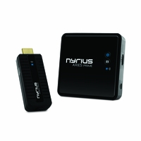 Nyrius ARIES Prime Wireless Video HDMI Transmitter & Receiver for Streaming HD 1080p 3D Video & Digital Audio from Laptop, PC, Cable, Netflix, YouTube, PS4, Xbox One to HDTV/Projector (NPCS549)<!--NPCS549-->