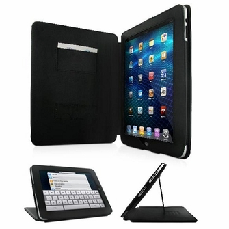 Nyrius NiAA100 Executive iPad Case/Folio with Built-in Horizontal and Vertical Stand for Apple iPad Tablet 3G/Wi-Fi 16GB, 32GB, 64GB<!--NIAA100-->