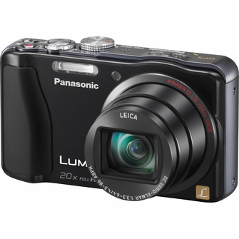 Panasonic Lumix ZS20 14.1 MP High Sensitivity MOS Digital Camera with 20x Optical Zoom (Black)<!--DMC-ZS20K-->