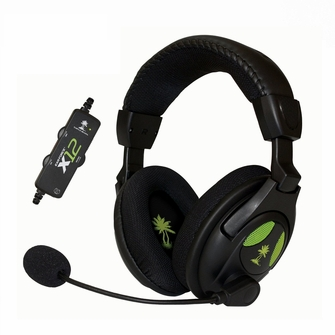 Turtle Beach Ear Force X12 Gaming Headset with Amplified Stereo Sound for PC and XBOX 360<!--X12GHS-->