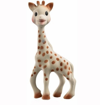 Vulli Sophie The Giraffe Teether Chew Toy Made with Natural Rubber & Food Paint - Phthalates and BPA Free<!--SOPHIEG-->