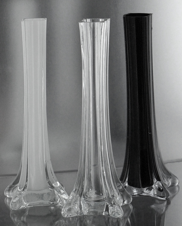 Black cheap vases eiffel tower cheapest price