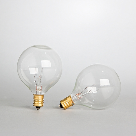 Replacement Bistro Light Bulbs, Set of 2