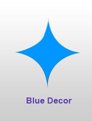 Blue Decor