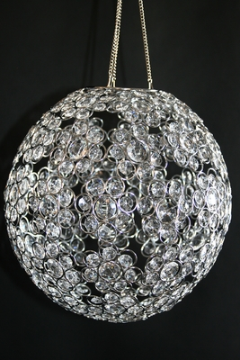 Crystal Beaded Ball Chandelier 12 Quot Round Decoration