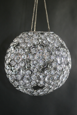 Crystal Ball Chandelier Acrylic Crystal Sphere Chandelier
