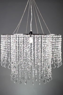 Large Diameter Crystal Chandelier Wide Event Space Hanging Lighting Tent Lighting Sparkling