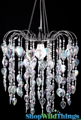 Beaded chandeliers crystal beads fountain shopwildthings aloadofball Images
