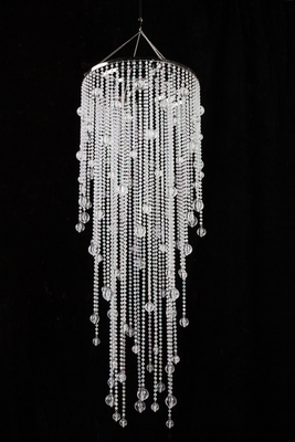 Chandelier Vanessa Crystal Iridescent 39 Quot Long