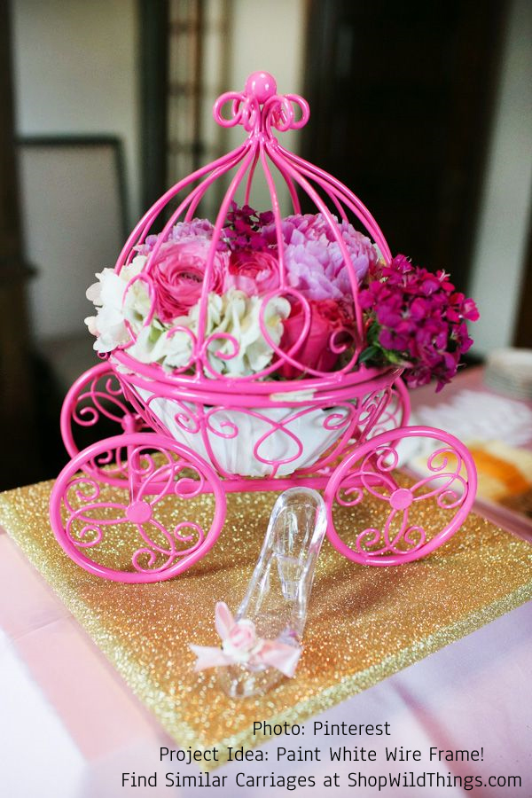 Cinderella Carriage Centerpieces Decorations Blogs Workanyware Co Uk