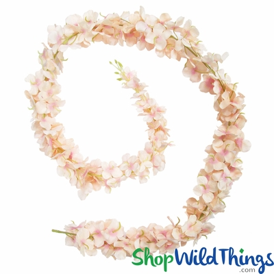 Premium silk flower garlandsartificial floralsshopwildthings mightylinksfo