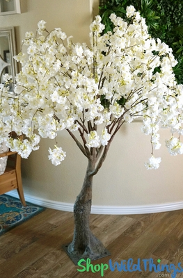 Faux Trees Flowering Silk Cherry Blossom Amp Dogwood Trees